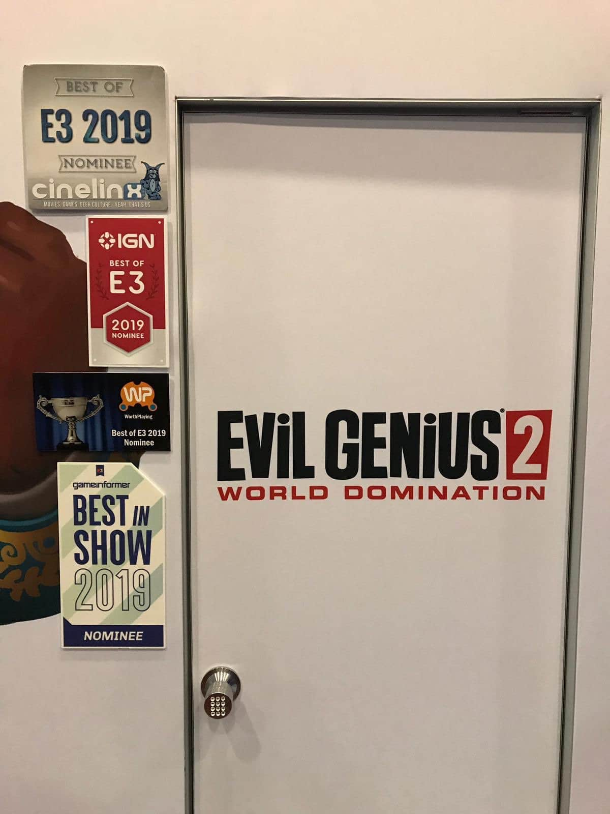 Congrats Rebellion on E3 Awards!