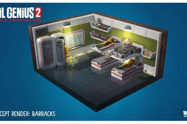 EG2 Barracks Room Concept Art