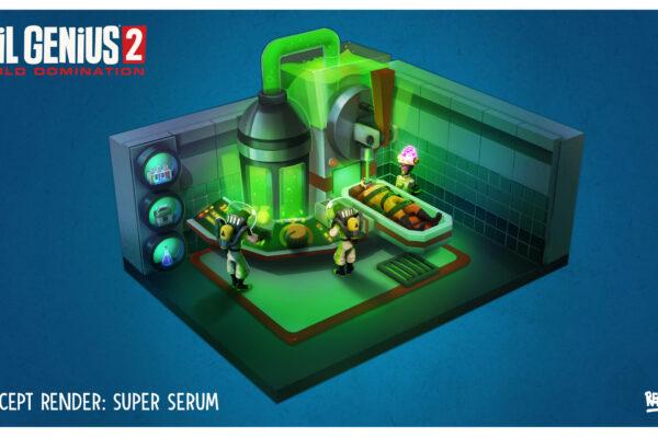 EG2 Super Serum Room Concept Art