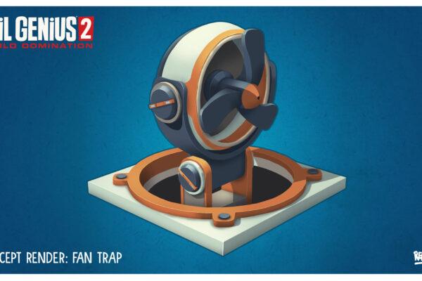 EG2 Trap Fan Concept Art