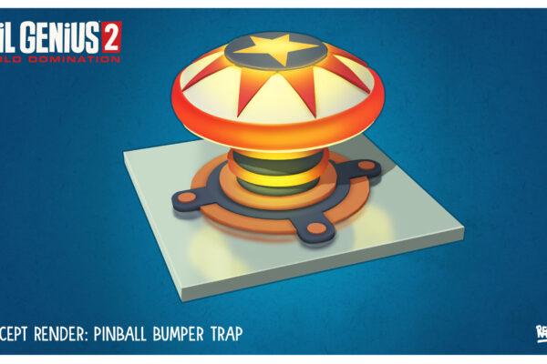 EG2 Trap Pinball Concept Art
