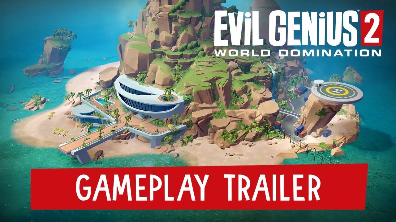 Evil Genius 2: World Domination – Gameplay Trailer