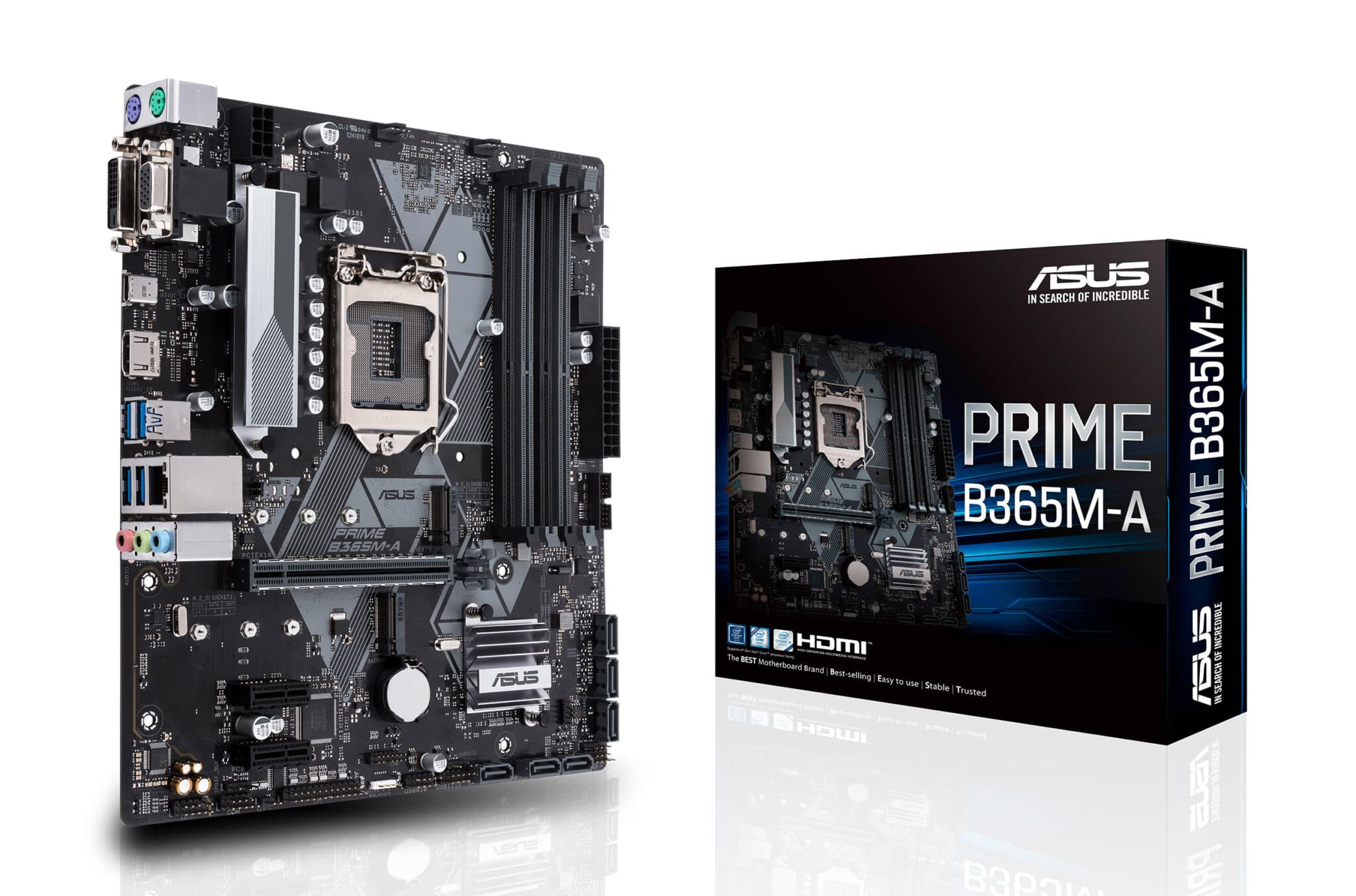 ASUS PRIME B365M-A LGA-1151 Support 9th 8th Gen Intel Processor