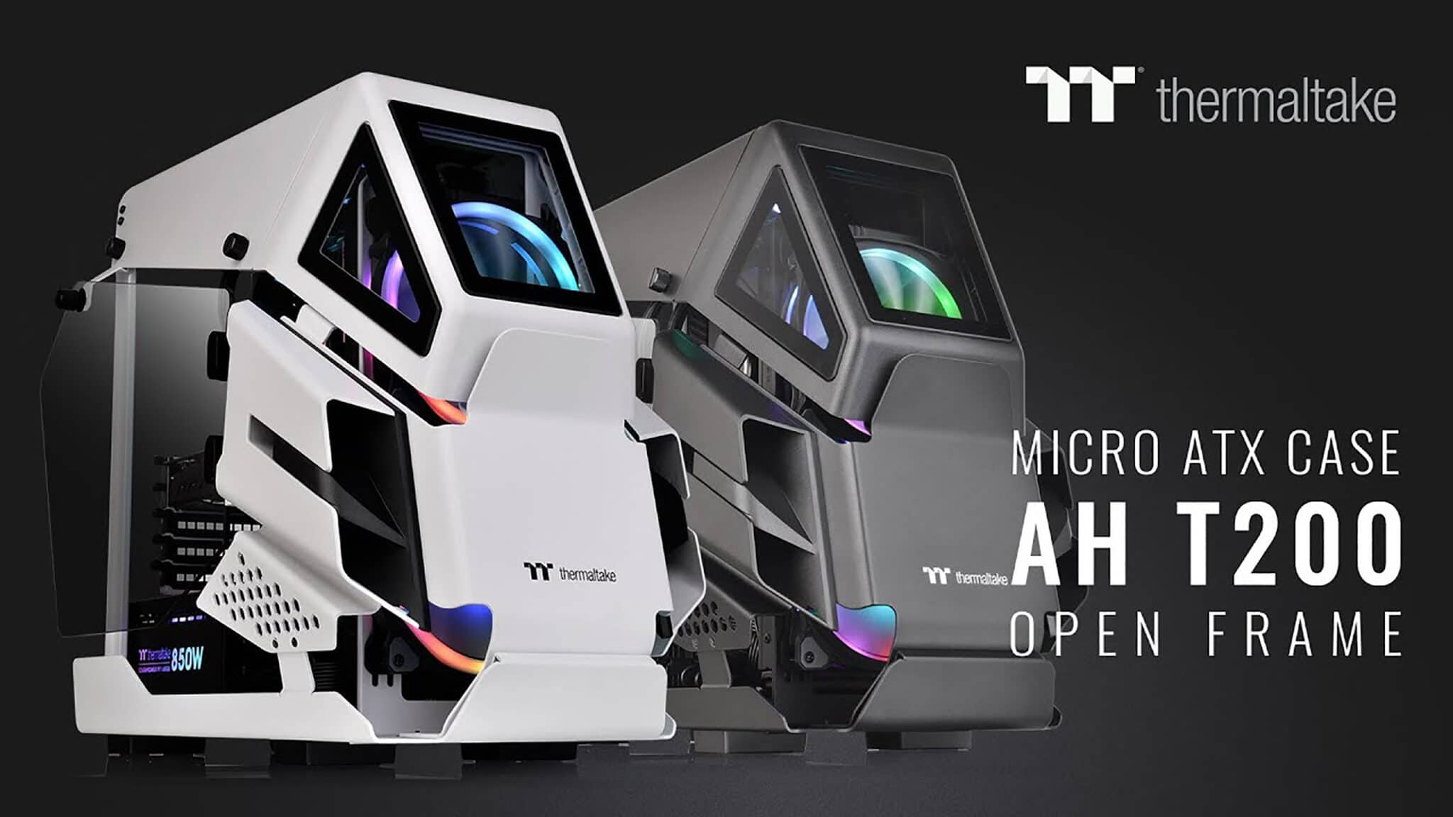 The Thermaltake AH T200 Micro ATX Case is Here