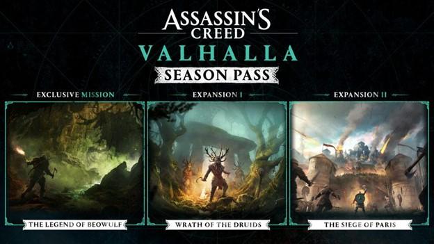Assassin's Creed Valhalla DLC Season Pass