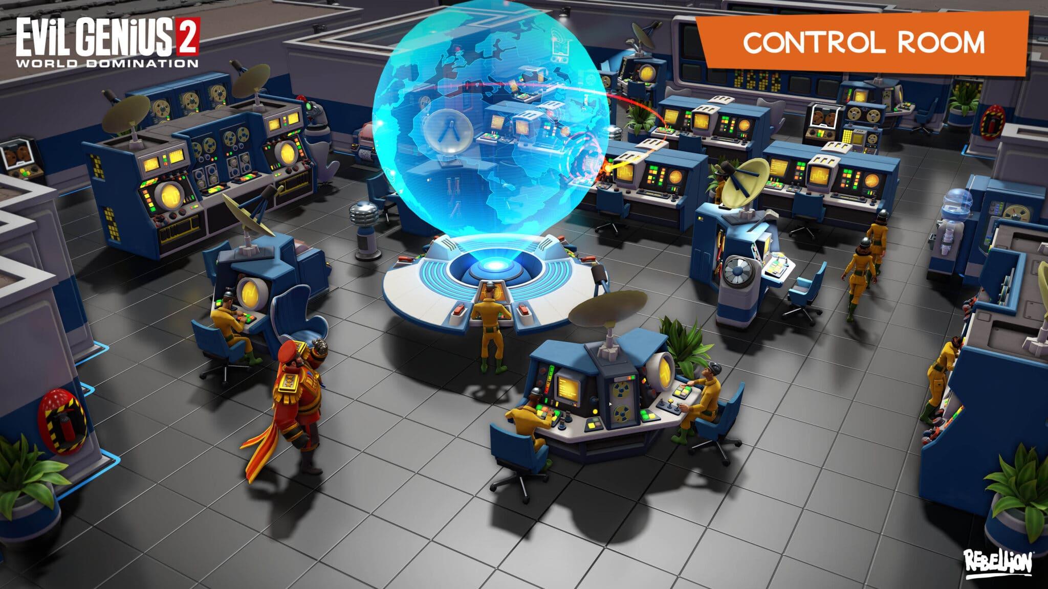 Evil Genius 2 - Control Room
