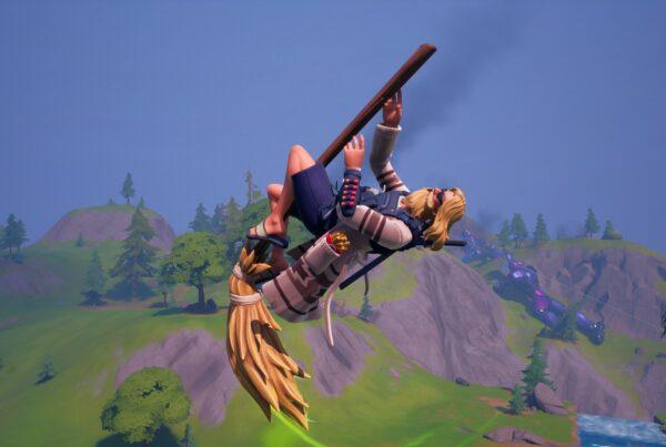 Fortnite Witch Broom