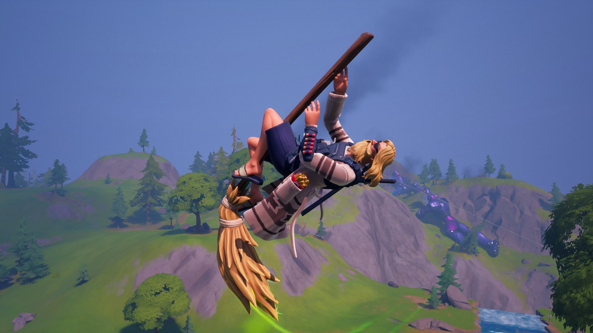 Finding the Fortnitemares Witch Broom