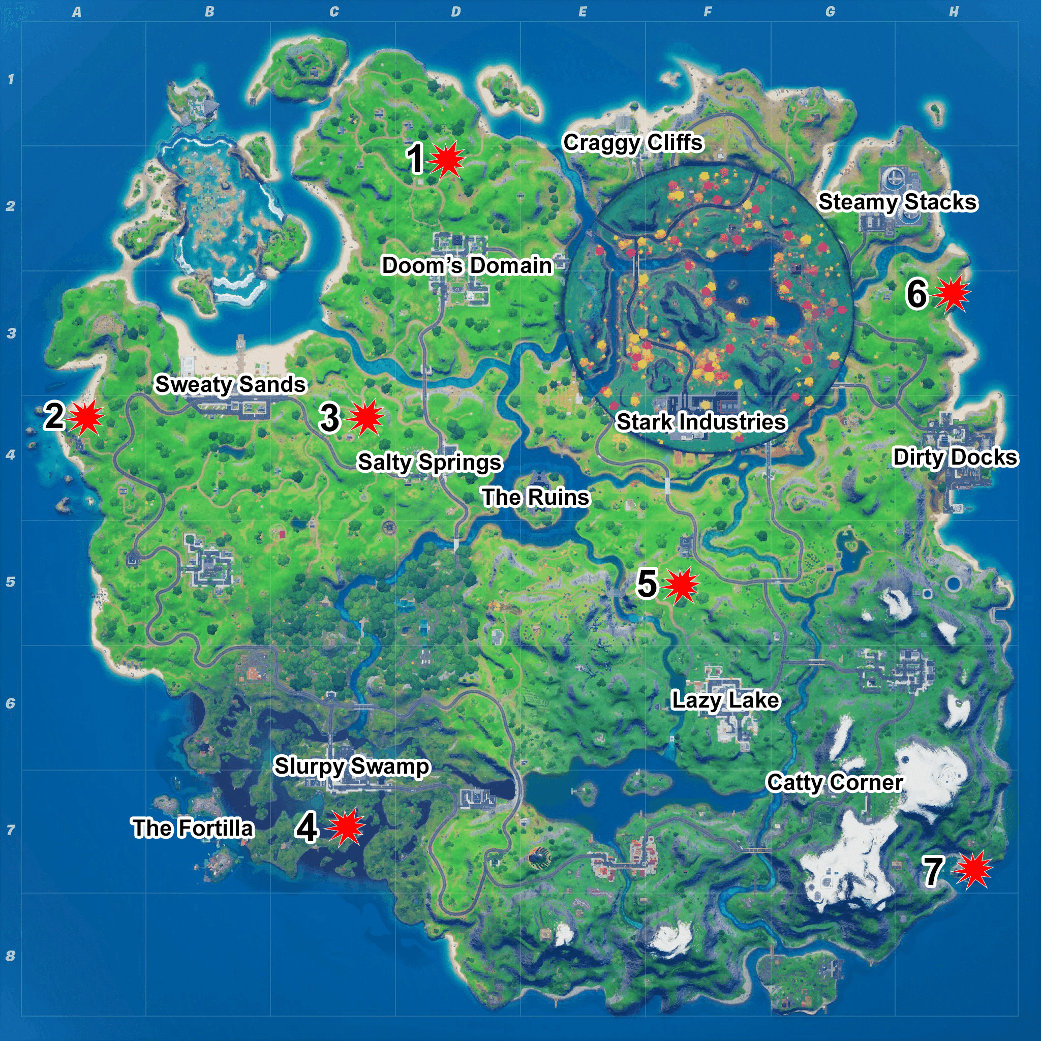 Fortnite Witch Map