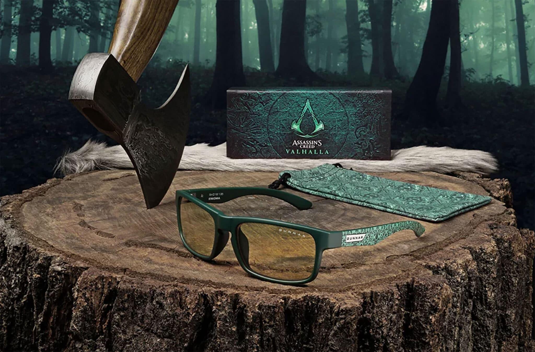 GUNNAR Optiks and Ubisoft Release 'Assassin's Creed Valhalla' Eyewear