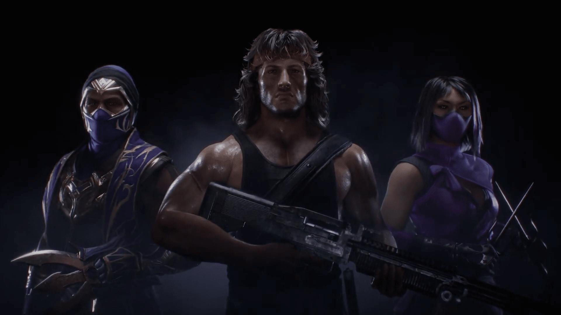 Rain, Mileena, and Rambo Coming To Mortal Kombat 11