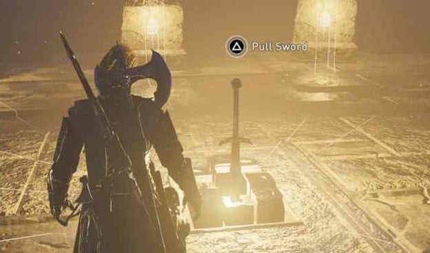 How To Acquire The Fabled Sword Excalibur Assassin's Creed Valhalla 14