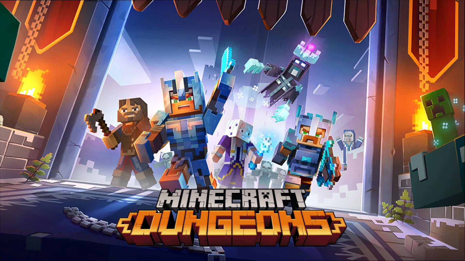 Top Weapons You'll Want To Have When Crawling Your Way Through Minecraft Dungeons
