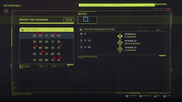 Cyberpunk 2077 Hacking 3